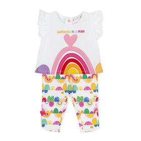 Agatha Ruiz girls top & legging set 2594-021 Multi