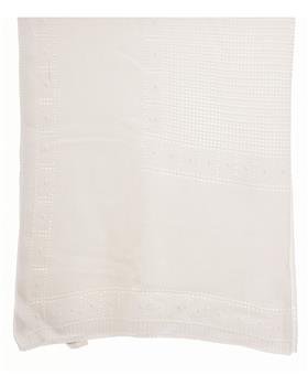 Sardon Baby Blanket 20AM-706 WHITE