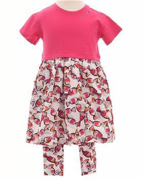 Catimini Girls Sweet Dress and Leggings CQ30083-24033-20 Pink