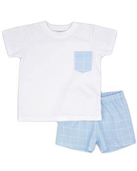Rapife boys T shirt & shorts 4350S21 blue