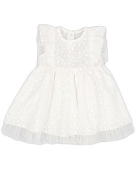 Rapife baby girls summer dress 5220S21 ivory