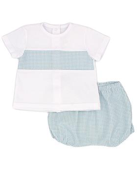 Rapife boys T shirt & shorts 5314S21 green
