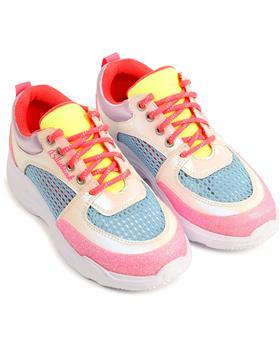 Billieblush girls rainbow colour trainer shoe  U19266