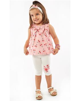 Ebita girls summer cherry legging set 4518-021