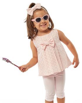 Ebita girls summer lace tunic legging set 4531-021