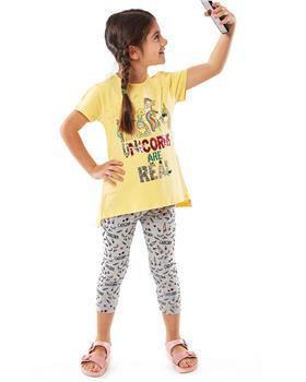 Ebita girls unicorns are real legging set 4207-021