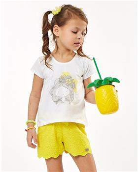 Ebita girls summer T-shirt & shirt 2298-021