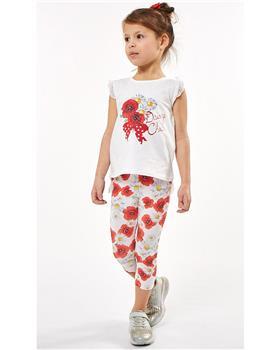 Ebita girls summer Daisy Chic legging set 2296-021