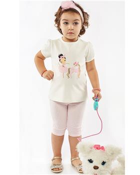 Ebita girls summer unicorn legging set 4526-021