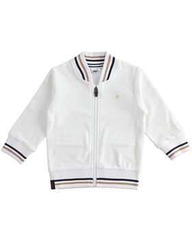 I do boys zip up jacket 42214-021 white