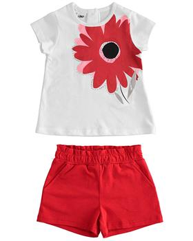I Do girls top & shorts 42774-021 red