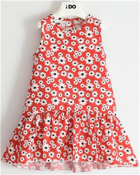 I Do summer girls sleeveless dress 42779 red