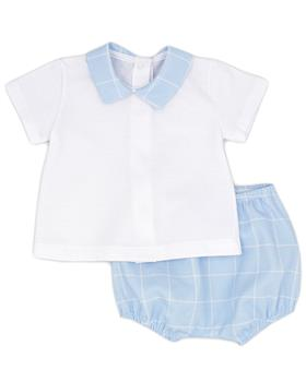 Rapife baby boys T-shirt & bloomer short 4314S21  blue