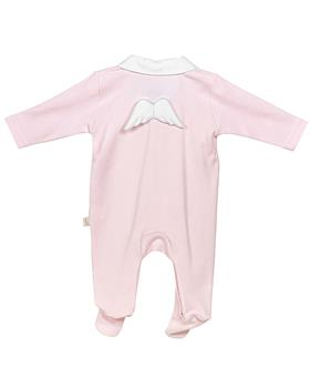 Baby Gi angel wing cotton sleepsuit BGM53LAR Pink