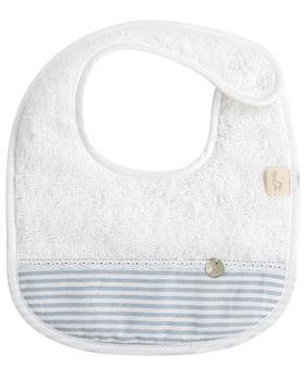 Baby Gi cotton terry bib BS21 blue