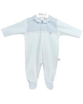 Baby Gi sky babygrow BS51A blue
