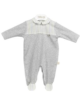 Baby Gi babygrow C51CG Grey