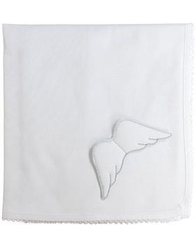 Baby Gi angel wing light summer blanket BG11LAB White