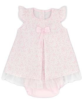 Rapife baby girls summer dress & briefs 4415S21 pink