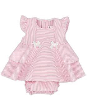 Rapife baby girls summer dress & briefs 4615S21 pink