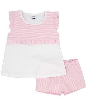 Rapife girls summer T shirt & shorts 4651S21 pink