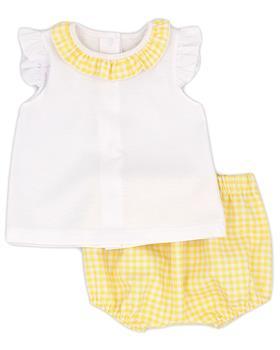 Rapife baby girls T shirt & bloomer short 5013S21