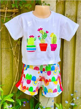 Agatha Ruiz girls top & short 7TS5721-7CL0922-021