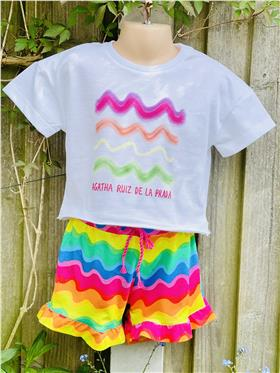 Agatha Ruiz girls top & short 7TS5718-7CL0921-021