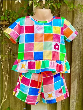 Agatha Ruiz top & shorts set 7TS5745-7CL0924-021