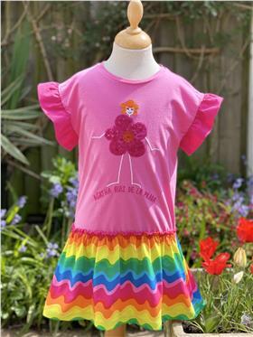 Agatha Ruiz girls dress 7VE3413-021