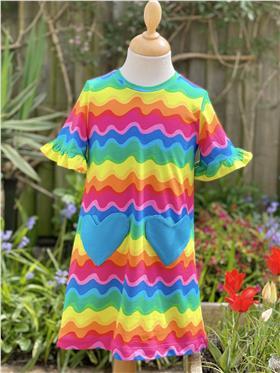 Agatha Ruiz girls Good Vibrations dress 7VE3411-021