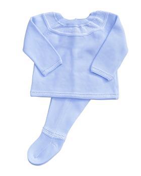 Martin Aranda baby boys jumper & footie 004-11121-021 blue