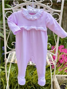 Little Nosh Girls BabyGrow  MAR-21107 PINK