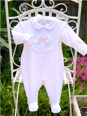Little Nosh Girls BabyGrow LB2020-107 Pink