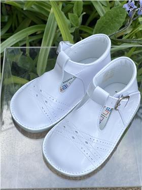 Andanines UNISEX leather shoe 191030-19 White