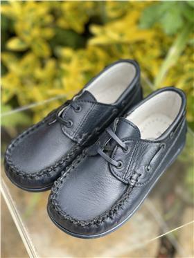 Andanines boys deck shoe 2519 Navy