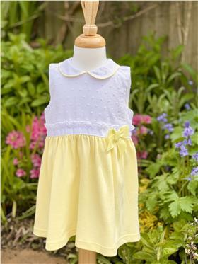 Mintini girls dress MB3307 White