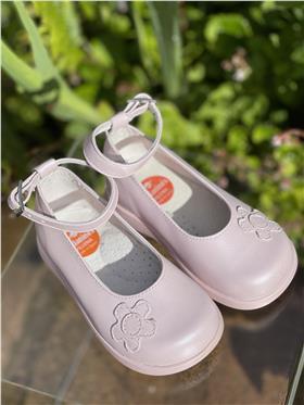 Andanines Girls Pearlised Shoe 16003 PINK
