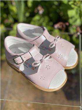 Andanines Girls Sandal P13170 Pearlised Pink