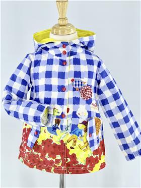 Rosalita Senorita girls coat Naas 6-20 Blue