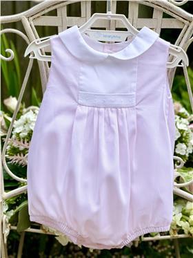 Laranjinha baby girls romper V8621-18 Pink