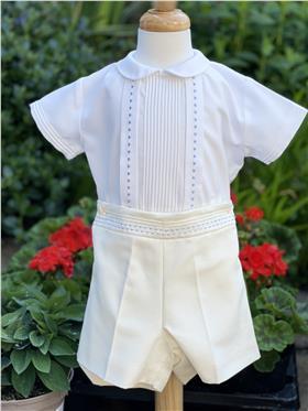 Torres Boys Short Sleeve Shirt & Shorts 22994 IV/IV/BL