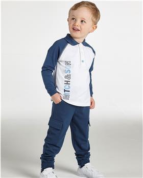 Mitch & Son boys polo top & cargo trouser  MS21408-411