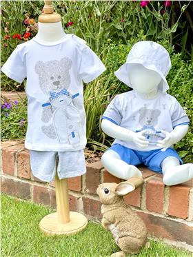 EMC Boys T-shirt & Shorts co2362-18 grey