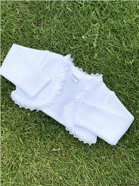 Rochy Girls Bolero P03230 White
