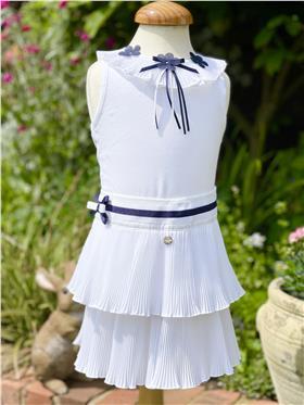 Butterscotch Girls Top & Skirt SS1TP03/SS1SK10 Navy