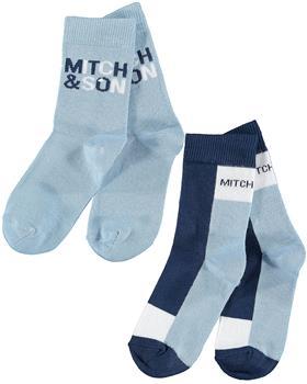 Mitch & son boys socks MS21414 Parsonage Blue