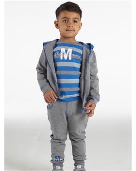 Mitch & son boys top & zipper tracksuit MS21510-505 GREY