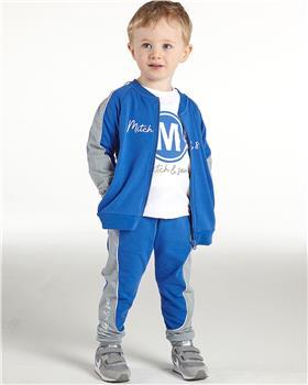 Mitch & Son boys top & zipper tracksuit MS21509-519 Royal Blue