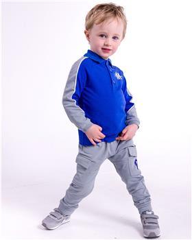 Mitch & Son boys polo top & track bottom MS21507-514 Royal Blue